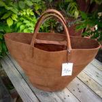 Un sac pot de fleurs